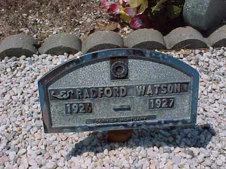 WATSON, RADFORD - Hot Spring County, Arkansas | RADFORD WATSON - Arkansas Gravestone Photos