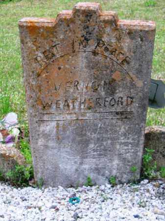WEATHERFORD, VERNON - Hot Spring County, Arkansas | VERNON WEATHERFORD - Arkansas Gravestone Photos