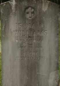 WILLIAMS (VETERAN), ISOM CORBET - Hot Spring County, Arkansas | ISOM CORBET WILLIAMS (VETERAN) - Arkansas Gravestone Photos