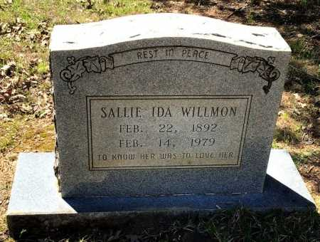 WILLMON, SALLIE IDA - Hot Spring County, Arkansas | SALLIE IDA WILLMON - Arkansas Gravestone Photos