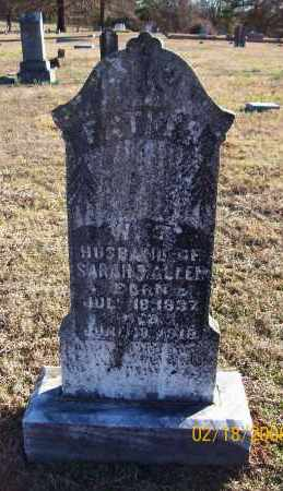ALLEN  (VETERAN CSA), WILLIAM T - Howard County, Arkansas | WILLIAM T ALLEN  (VETERAN CSA) - Arkansas Gravestone Photos
