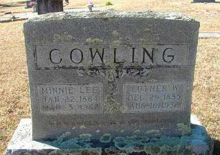 COWLING, MINNIE LEE - Howard County, Arkansas | MINNIE LEE COWLING - Arkansas Gravestone Photos