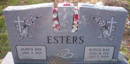ESTERS, RUFUS RAY - Howard County, Arkansas | RUFUS RAY ESTERS - Arkansas Gravestone Photos