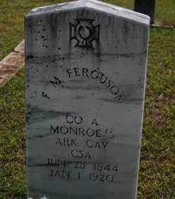 FERGUSON  (VETERAN CSA), FRANCIS MARION - Howard County, Arkansas | FRANCIS MARION FERGUSON  (VETERAN CSA) - Arkansas Gravestone Photos