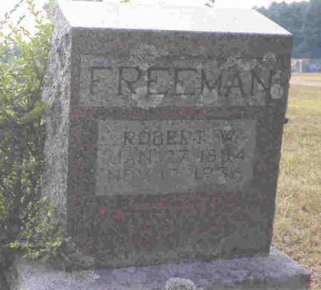 FREEMAN, ROBERT W. - Howard County, Arkansas | ROBERT W. FREEMAN - Arkansas Gravestone Photos