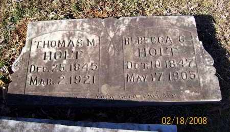 HOLT, REBECCA CATHERINE - Howard County, Arkansas | REBECCA CATHERINE HOLT - Arkansas Gravestone Photos