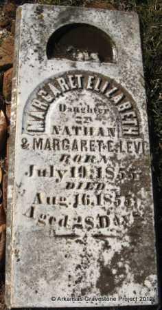 LEVI, MARGARET ELIZABETH - Howard County, Arkansas | MARGARET ELIZABETH LEVI - Arkansas Gravestone Photos