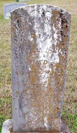 MCCLURE  (VETERAN CSA), THOMAS WILLIAM - Howard County, Arkansas | THOMAS WILLIAM MCCLURE  (VETERAN CSA) - Arkansas Gravestone Photos