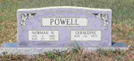 POWELL, GERALDINE - Howard County, Arkansas | GERALDINE POWELL - Arkansas Gravestone Photos