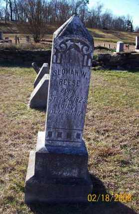 REESE  (VETERAN CSA), SLOMAN WESLEY - Howard County, Arkansas | SLOMAN WESLEY REESE  (VETERAN CSA) - Arkansas Gravestone Photos