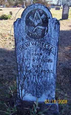 REESE  (VETERAN CSA), WILLIAM WILEY - Howard County, Arkansas | WILLIAM WILEY REESE  (VETERAN CSA) - Arkansas Gravestone Photos
