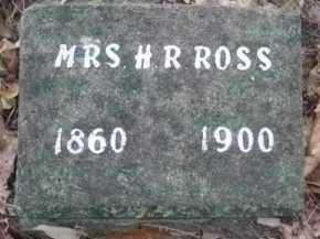 ROSS, ASENTHA ANN (MRS HUGH ROBERT) - Howard County, Arkansas | ASENTHA ANN (MRS HUGH ROBERT) ROSS - Arkansas Gravestone Photos