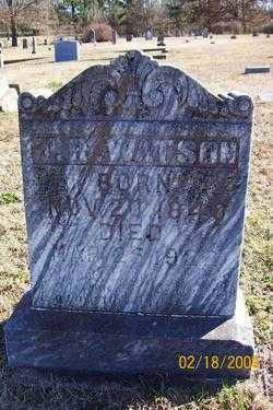 WATSON  (VETERAN CSA), THOMAS RIGHT - Howard County, Arkansas | THOMAS RIGHT WATSON  (VETERAN CSA) - Arkansas Gravestone Photos