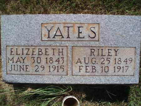 YATES, ELIZEBETH - Howard County, Arkansas | ELIZEBETH YATES - Arkansas Gravestone Photos