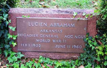 ABRAHAM (VETERAN WWII), LUCIEN - Independence County, Arkansas | LUCIEN ABRAHAM (VETERAN WWII) - Arkansas Gravestone Photos