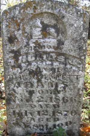 ADAMS, THOMAS J. - Independence County, Arkansas | THOMAS J. ADAMS - Arkansas Gravestone Photos