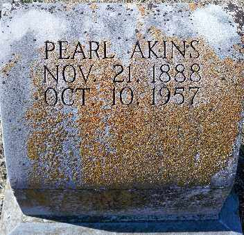AKINS, PEARL - Independence County, Arkansas | PEARL AKINS - Arkansas Gravestone Photos
