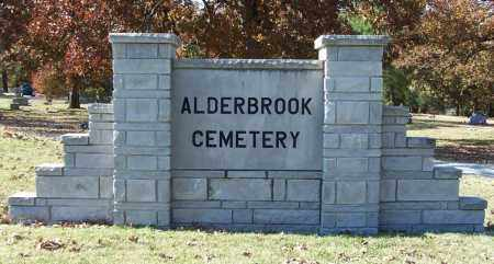 *ALDERBROOK CEMETERY SIGN,  - Independence County, Arkansas |  *ALDERBROOK CEMETERY SIGN - Arkansas Gravestone Photos