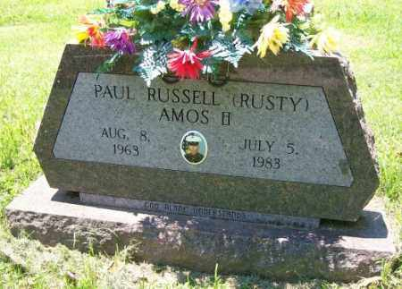 "AMOS II  (VETERAN), PAUL RUSSELL ""RUSTY"" - Independence County, Arkansas 
