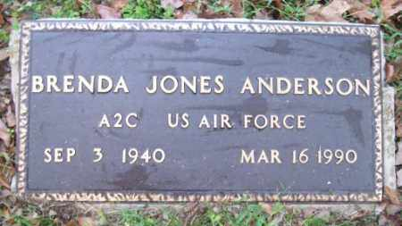 JONES ANDERSON  (VETERAN), BRENDA - Independence County, Arkansas | BRENDA JONES ANDERSON  (VETERAN) - Arkansas Gravestone Photos
