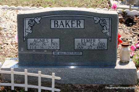 BAKER, AGNES - Independence County, Arkansas | AGNES BAKER - Arkansas Gravestone Photos