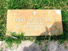 BALL  (VETERAN KOR), JERRY ALVIS - Independence County, Arkansas | JERRY ALVIS BALL  (VETERAN KOR) - Arkansas Gravestone Photos