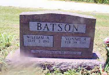BATSON, WILLIAM AUBREY - Independence County, Arkansas | WILLIAM AUBREY BATSON - Arkansas Gravestone Photos
