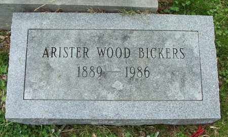 BICKERS, ARISTER WOOD - Independence County, Arkansas | ARISTER WOOD BICKERS - Arkansas Gravestone Photos