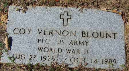 BLOUNT (VETERAN WWII), COY VERNON - Independence County, Arkansas | COY VERNON BLOUNT (VETERAN WWII) - Arkansas Gravestone Photos