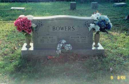 MATTHEWS BOWERS, OLLIE MAE - Independence County, Arkansas | OLLIE MAE MATTHEWS BOWERS - Arkansas Gravestone Photos