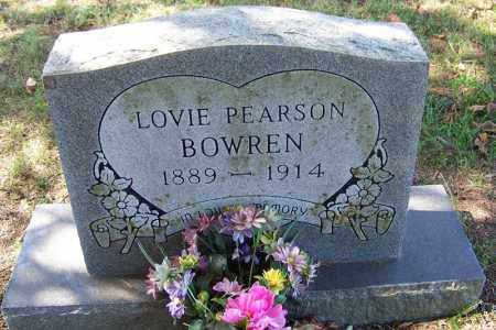 BOWREN, LOVIE - Independence County, Arkansas | LOVIE BOWREN - Arkansas Gravestone Photos