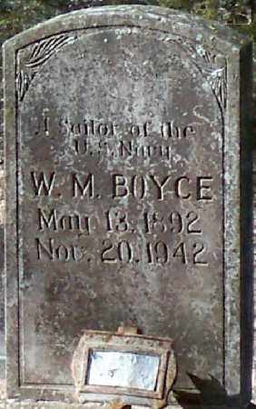 BOYCE (VETERAN), W M - Independence County, Arkansas | W M BOYCE (VETERAN) - Arkansas Gravestone Photos