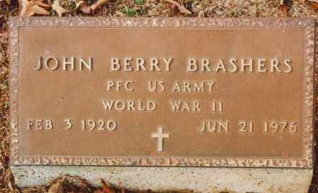 BRASHERS (VETERAN WWII), JOHN BERRY - Independence County, Arkansas | JOHN BERRY BRASHERS (VETERAN WWII) - Arkansas Gravestone Photos