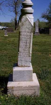 BRAY, DIDEMA ISABELLE - Independence County, Arkansas | DIDEMA ISABELLE BRAY - Arkansas Gravestone Photos