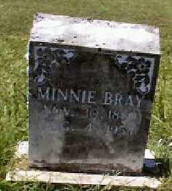 BRAY, MINNIE - Independence County, Arkansas | MINNIE BRAY - Arkansas Gravestone Photos