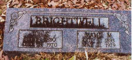 BRIGHTWELL, MAMIE M. - Independence County, Arkansas | MAMIE M. BRIGHTWELL - Arkansas Gravestone Photos