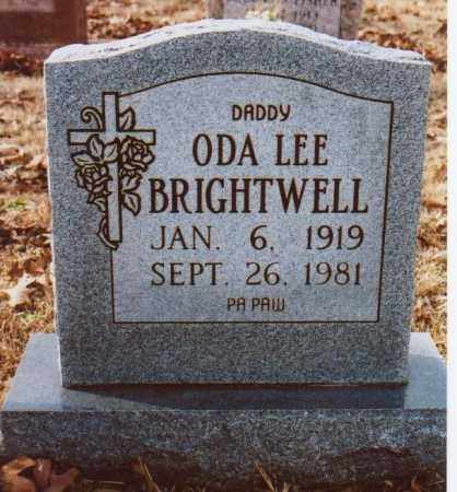 BRIGHTWELL, ODA LEE - Independence County, Arkansas | ODA LEE BRIGHTWELL - Arkansas Gravestone Photos