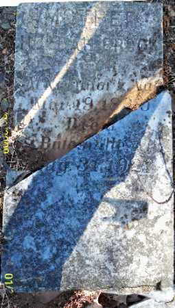 BROCK, HULDA - Independence County, Arkansas | HULDA BROCK - Arkansas Gravestone Photos