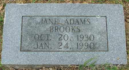 ADAMS BROOKS, JANE - Independence County, Arkansas | JANE ADAMS BROOKS - Arkansas Gravestone Photos