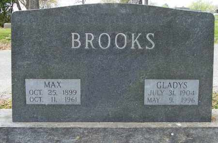 BROOKS, MAX - Independence County, Arkansas | MAX BROOKS - Arkansas Gravestone Photos