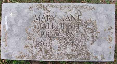 BROOKS, MARY JANE - Independence County, Arkansas | MARY JANE BROOKS - Arkansas Gravestone Photos