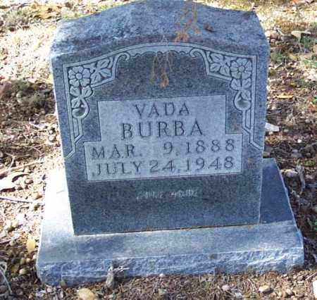 BURBA, VADA - Independence County, Arkansas | VADA BURBA - Arkansas Gravestone Photos