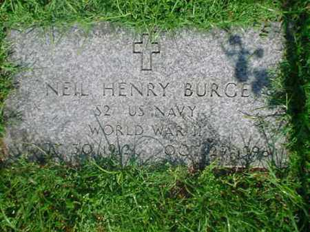 "BURGE  (VETERAN WWII), CORNELIUS ""NEIL"" HENRY - Independence County, Arkansas | CORNELIUS ""NEIL"" HENRY BURGE  (VETERAN WWII) - Arkansas Gravestone Photos"