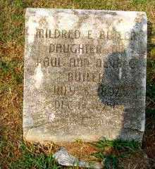 BUTLER, MILDRED EUGENIA - Independence County, Arkansas | MILDRED EUGENIA BUTLER - Arkansas Gravestone Photos