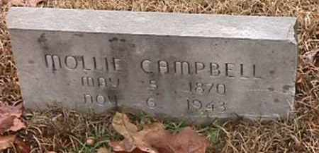 CAMPBELL, MOLLIE - Independence County, Arkansas | MOLLIE CAMPBELL - Arkansas Gravestone Photos