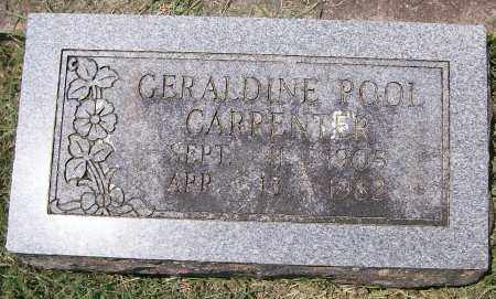 CARPENTER, GERALDINE - Independence County, Arkansas | GERALDINE CARPENTER - Arkansas Gravestone Photos