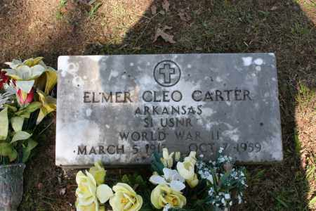 CARTER (VETERAN WWII), ELMER CLEO - Independence County, Arkansas | ELMER CLEO CARTER (VETERAN WWII) - Arkansas Gravestone Photos