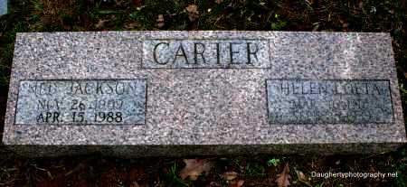 PADGETT CARTER, HELEN - Independence County, Arkansas | HELEN PADGETT CARTER - Arkansas Gravestone Photos
