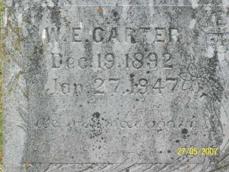 CARTER, WILLIAM E. - Independence County, Arkansas | WILLIAM E. CARTER - Arkansas Gravestone Photos