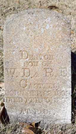 CASTEEL, DENTON - Independence County, Arkansas | DENTON CASTEEL - Arkansas Gravestone Photos